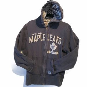 Authentic NHL MapleLeaf Hoodie All Guts No Glory M